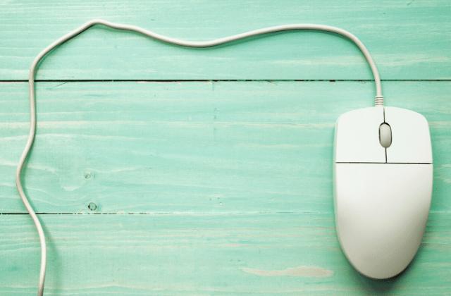 עכבר חוטי של מחשב