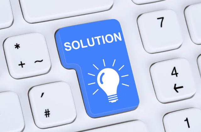 כפתור פתרונות מחשוב