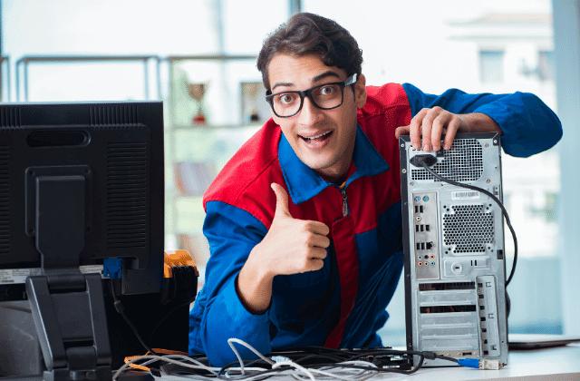 שחזור מערכת הפעלה במחשב, תיקון מחשב