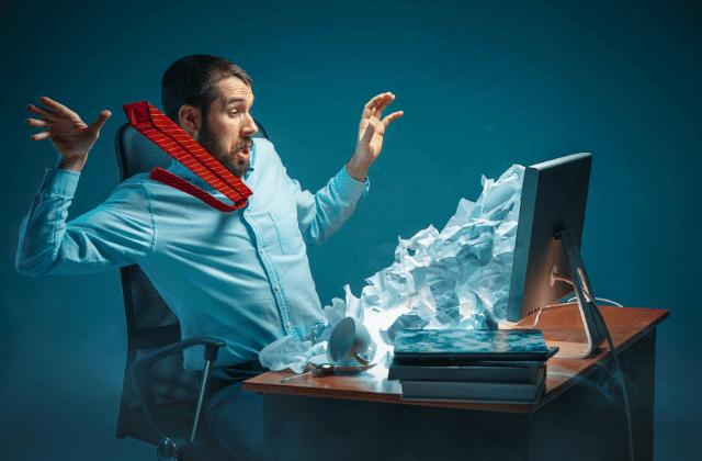 התקפת סייבר במחשב